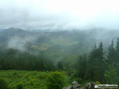 Parque Natural de Urkiola;pico almanzor brihuega lavanda viajes para singles ruta de cares